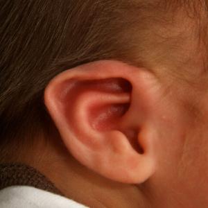 gemengde oorafwijking kind